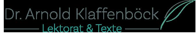 Arnold Klaffenböck Logo pfad